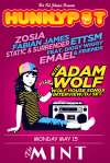 ADAM WOLF (WOLF HOUSE SONGS INTERVIEW/DJ SET) + ZOSIA + FABIAN JAMES + STATIC & SURRENDER + ETTSM FEAT. DIGGY WIGGY & FRIENDS + EMAEL