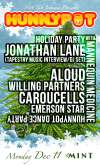 HOLIDAY PARTY W. JONATHAN LANE (TAPESTRY MUSIC/5 ALARM INTERVIEW/DJ SET) + ALOUD + WILLING PARTNERS + CAROUCELLS + EMERSON STAR + MANNEQUIN MEDICINE
