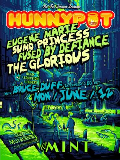 BRUCE DUFF (INTERVIEW/DJ SET) + EUGENE MARIE + SUMO PRINCESS + FUSED BY DEFIANCE + THE GLORIOUS + HOT TUB JOHNNIE (DJ SET)