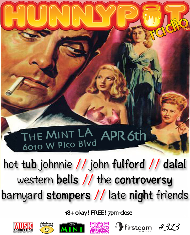 JOHN FULFORD (DJ SET) + WESTERN BELLS + THE CONTROVERSY + BARNYARD STOMPERS + LATE NIGHT FRIENDS + DALAL