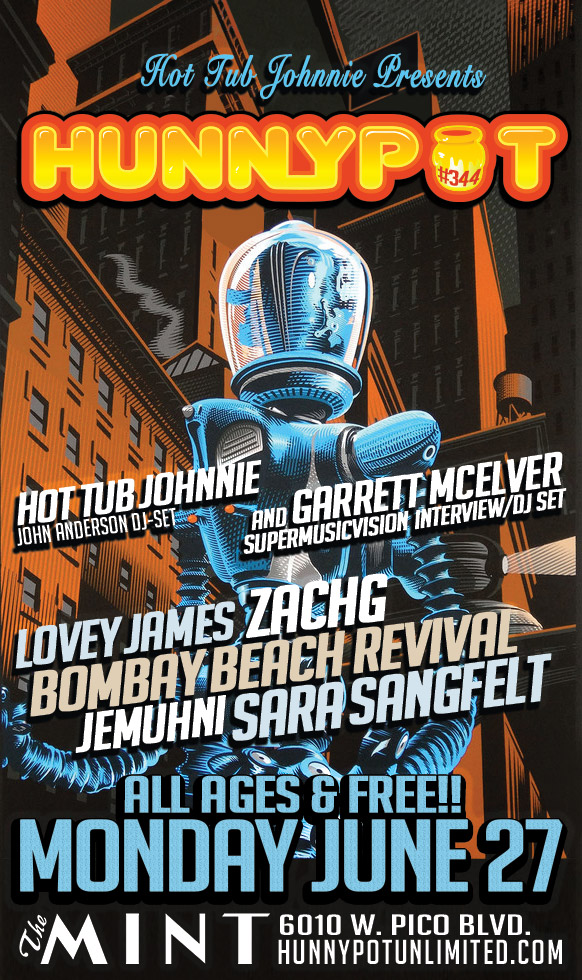 GARRETT McELVER (SUPERMUSICVISION INTERVIEW/DJ SET) + LOVEY JAMES + BOMBAY BEACH REVIVAL + SARA SANGFELT + JEMUHNI + ZACHG