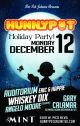 HOLIDAY PARTY w. GARY CALAMAR (GO MUSIC/KCRW INTERVIEW/DJ SET) + ERIC & HAPPIE + AUDITORIUM + WHISKEY DIX + ANGELO MOORE
