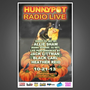 ALLIE SHAW (MANIC MONKEE DJ SET) + PERFORMANCES BY JACK LITTMAN + BLACK CARL + HEATHER REID