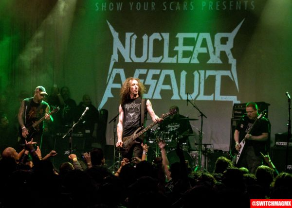 NUCLEAR ASSAULT @ THE REGENT, LOS ANGELES, CA (01.06.18)