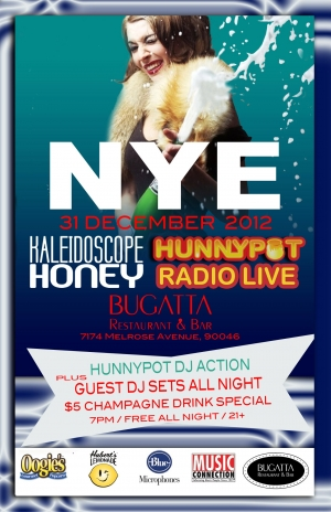 HUNNYPOT NEW YEARS EVE PARTY w. HOT TUB JOHNNIE + L BOOGIE + DJ BOOM SHACK