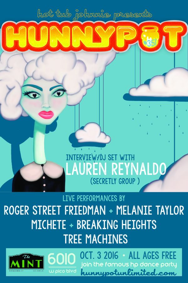 LAUREN REYNALDO (SECRETLY GROUP INTERVIEW/DJ SET) + ROGER STREET FRIEDMAN + MELANIE TAYLOR + MICHETE + BREAKING HEIGHTS + TREE MACHINES