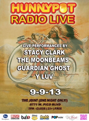 STACY CLARK + THE MOONBEAMS + GUARDIAN GHOSTS + Y LUV