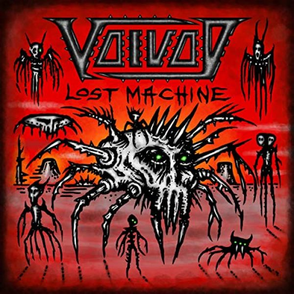 ALBUM REVIEW - VOIVOD, LOST MACHINE - LIVE