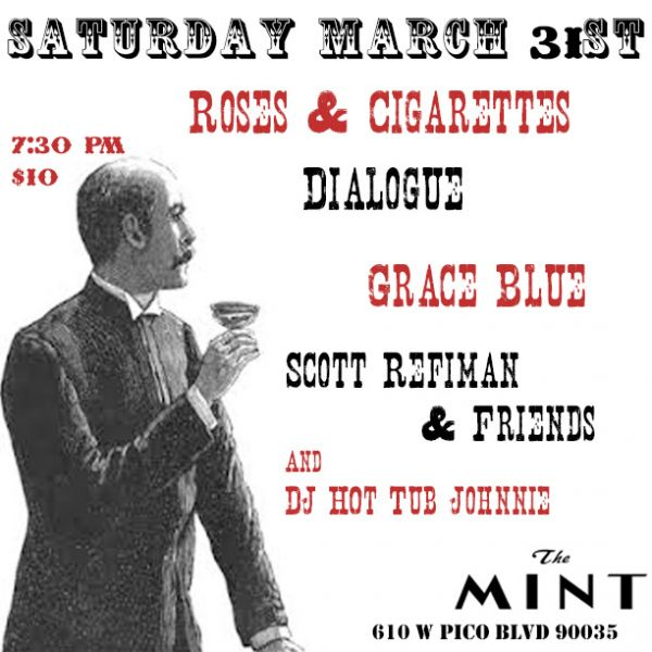 Scott Reifman Birthday party with DJ Hot Tub Johnnie at The Mint 3/31...