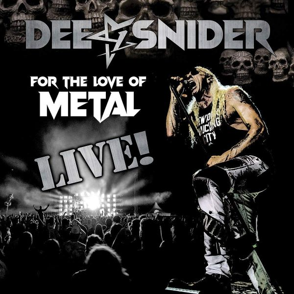 ALBUM REVIEW - DEE SNIDER, FOR THE LOVE OF METAL LIVE
