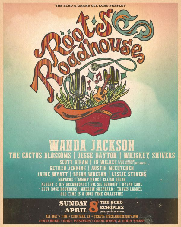 Roots Roadhouse festival 4/8 feat. JD Wilkes (Th' Legendary Shack Shakers)