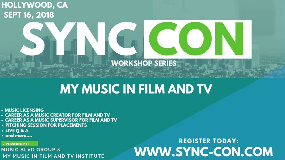 Sync Con Hollywood: Music Licensing Workshop