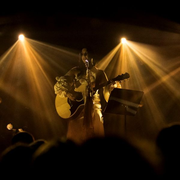 CONCERT REVIEW:  CHELSEA WOLFE AND IOANNA GIKA @ WONDER BALLROOM, PORTLAND, 11/19