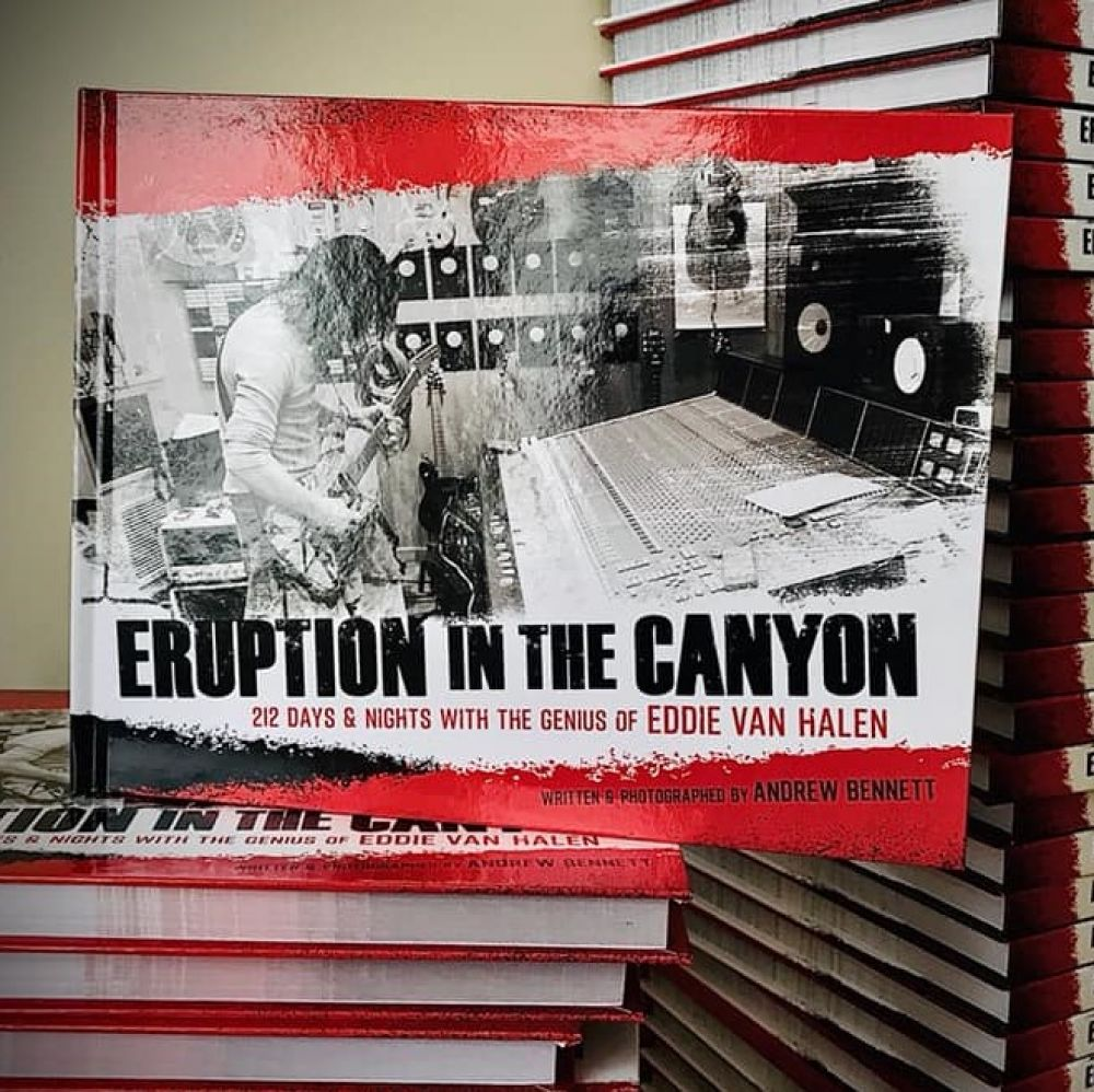 BOOK REVIEW:  ERUPTION IN THE CANYON:  212 DAYS & NIGHTS WITH THE GENIOUS OF EDDIE VAN HALEN